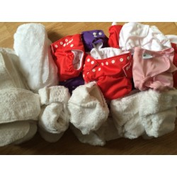 Little Lamb shaped and pocket nappies