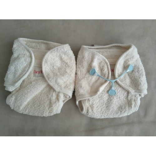 IMSE VIMSE organic fitted terry diapers